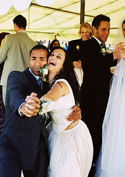 Bride and Groom Tango