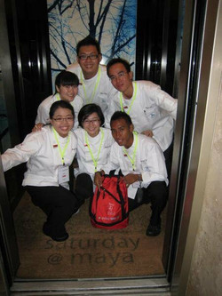 1st overseas trip