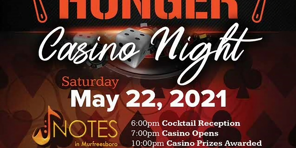 All In for Hunger Casino Night