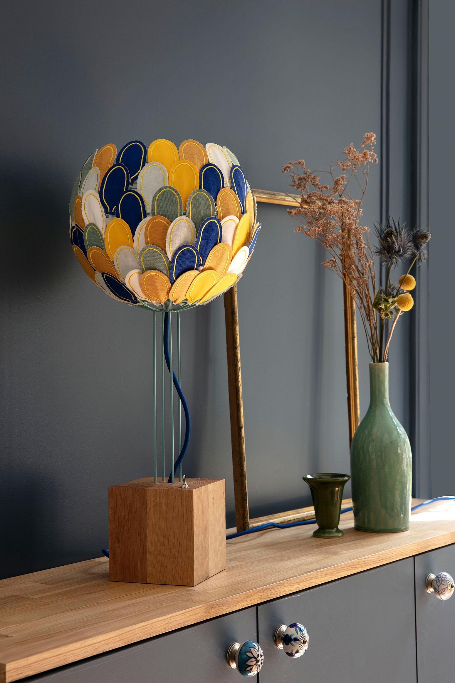 Lampe Olea, Millie Baudequin.