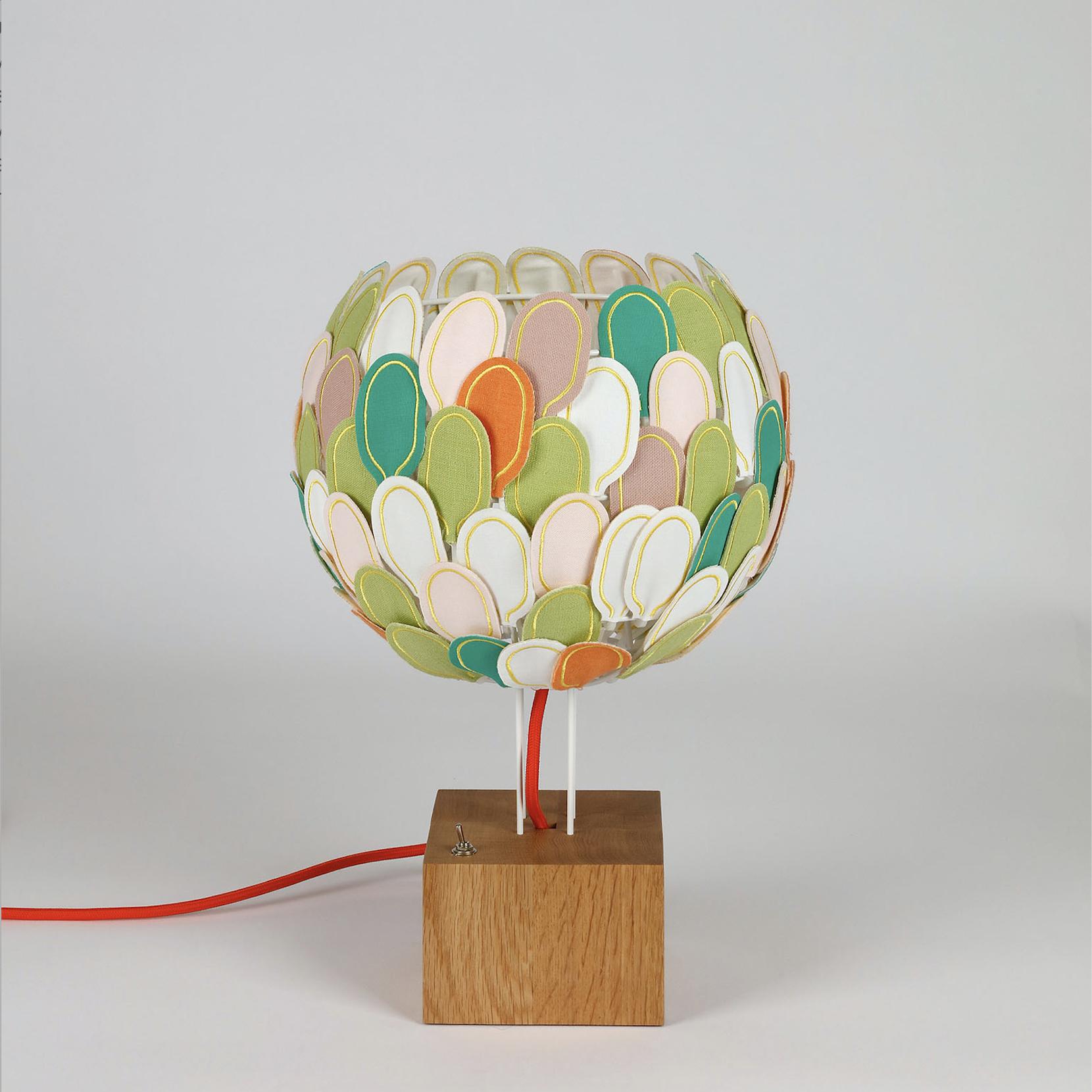 Lampe Olea, Millie Baudequin, Retour de jardin - veilleuse.