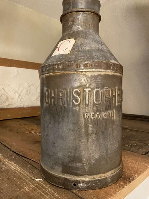 Vintage Christopher Milk Can