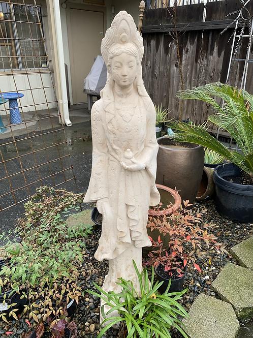Beautiful Asian Female Statuary