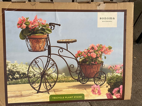 Bicycle Plant Holder in Box