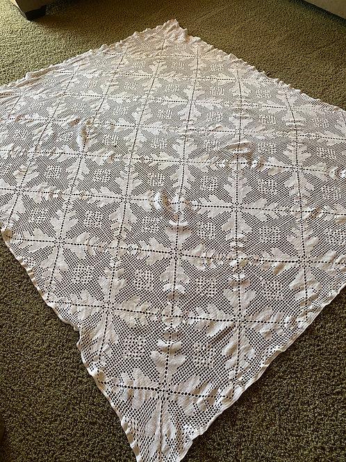 Hand Crocheted Table Linen