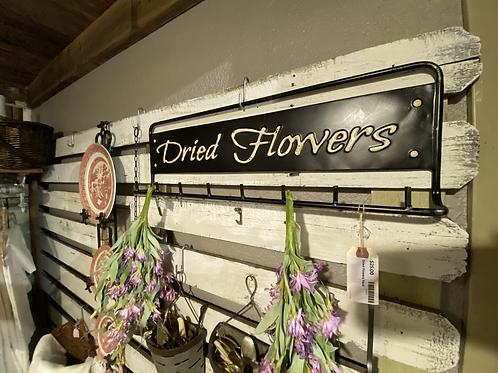 Dried Flowers Metal Rack