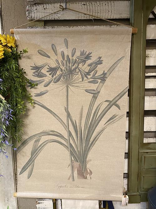 Muslin Flower Wall Hanging