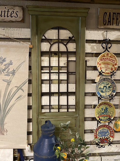 SALE/ Green Decorative Window