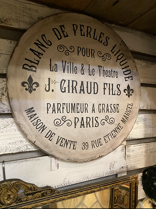 French Inspired Wall Decor