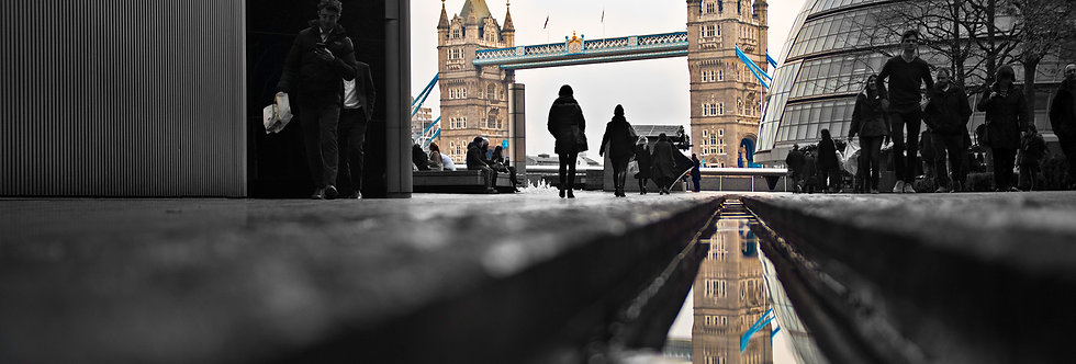 Tower Bridge - Reflective Days