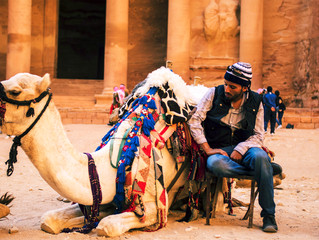 London Videographer Ali Kubba films the world wonder Petra in Jordan