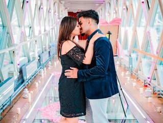 Romantic Tower Bridge Marriage Proposal