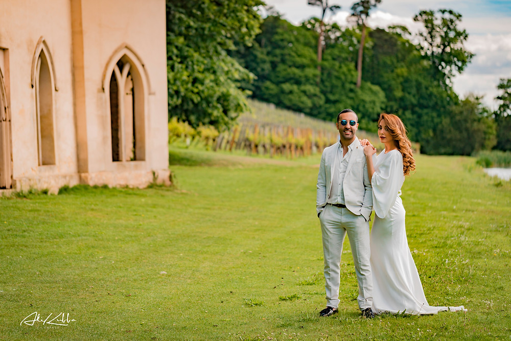 Painshill Park Wedding Shoot