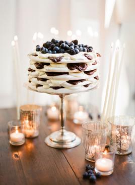 Layered Meringue Cake