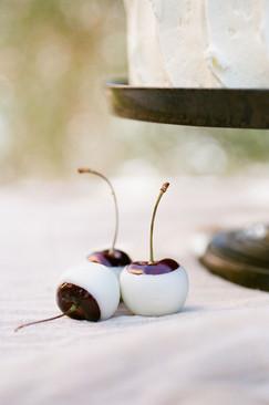 White Chocolate Cherries