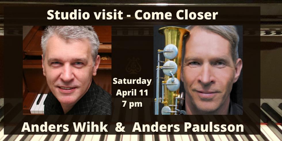 Studio visit # 4 - Anders Wihk & Anders Paulsson