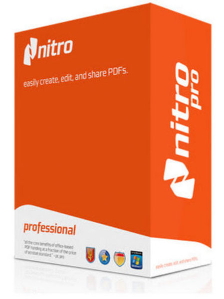 Nitro Pro 10 - Create, Edit & Convert Word & Other Document Formats to PDF