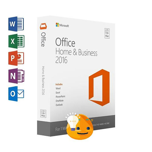 Microsoft Office For Mac Home & Business 2016 software