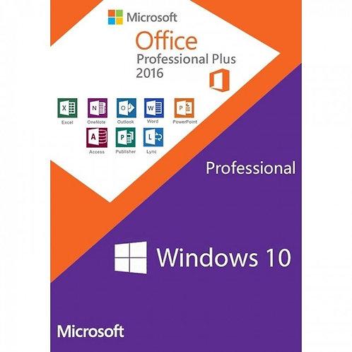 New Start Windows 10 + Office Pro