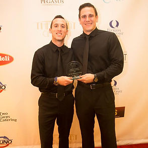 Two Guys Kitchen & Catering at the first annual Gastby Galla
