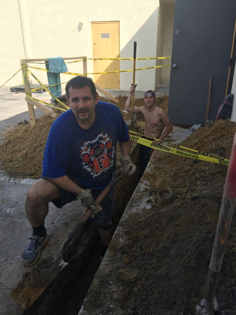 Just keep diging