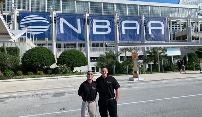 Chef Larry & Peter at the NBAA show