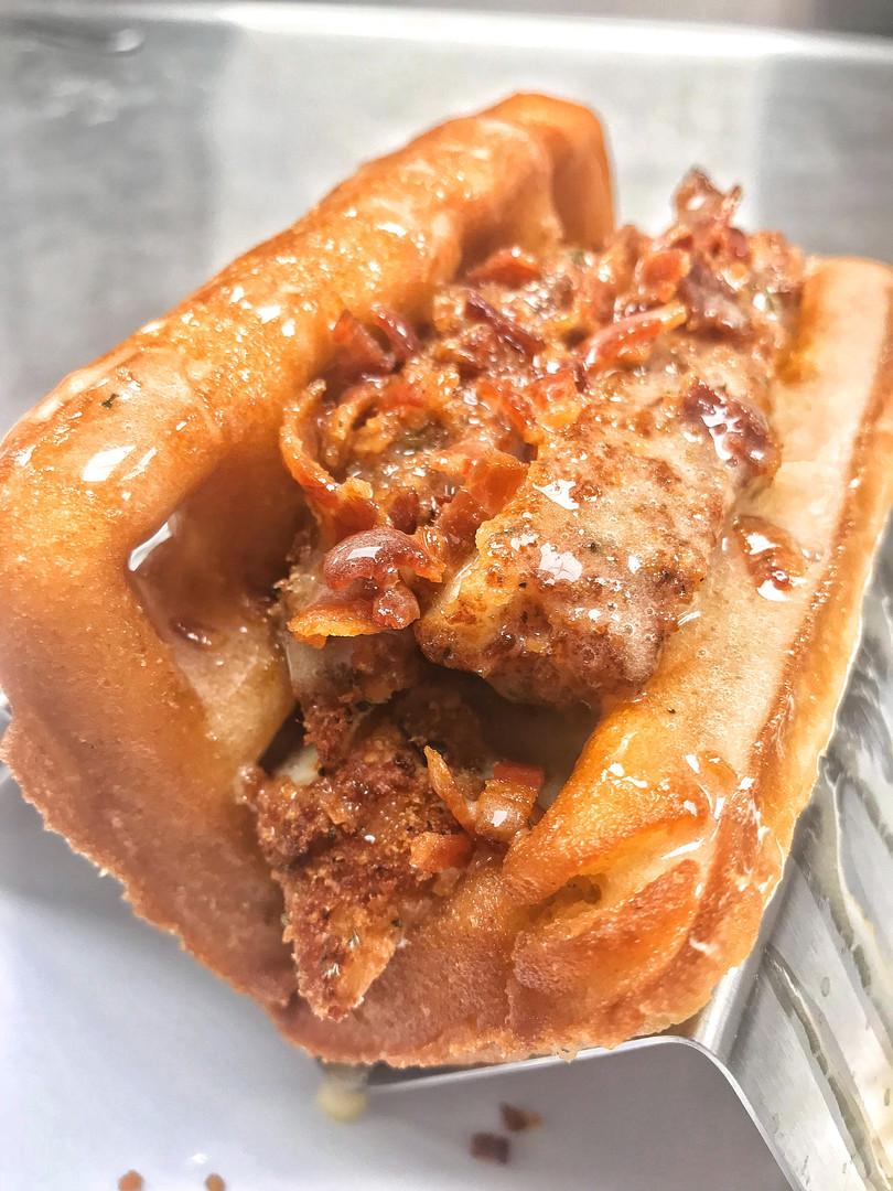 Fried Chicken & Waffle Taco