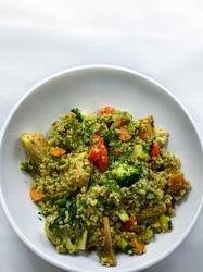 Pesto Quinoa Bowl with Chicken