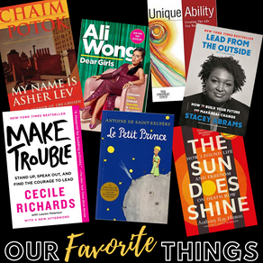Our Favorite Things: Books that Light Our Fire