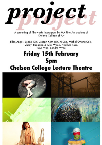 2013 PROJECT, UAL Chelsea collage of Arts, (London, UK)