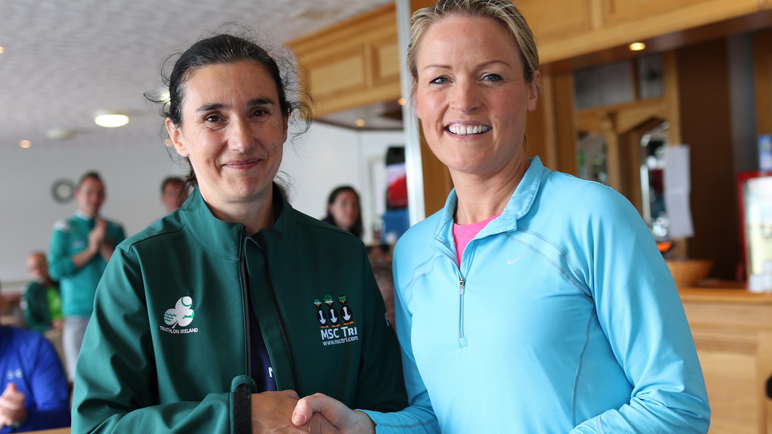Anne Heaney winner F40