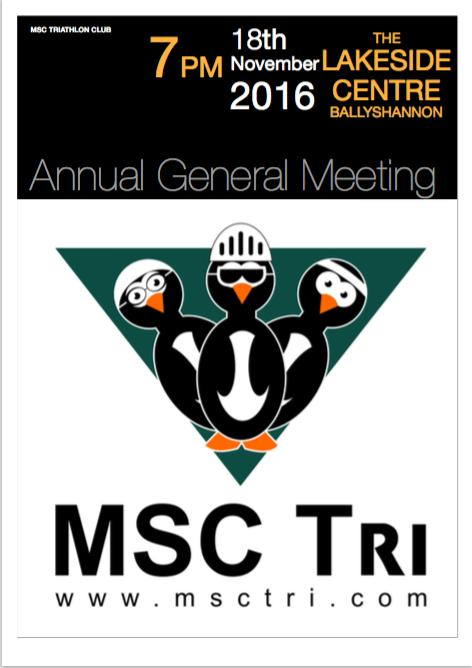 MSC Tri Club AGM