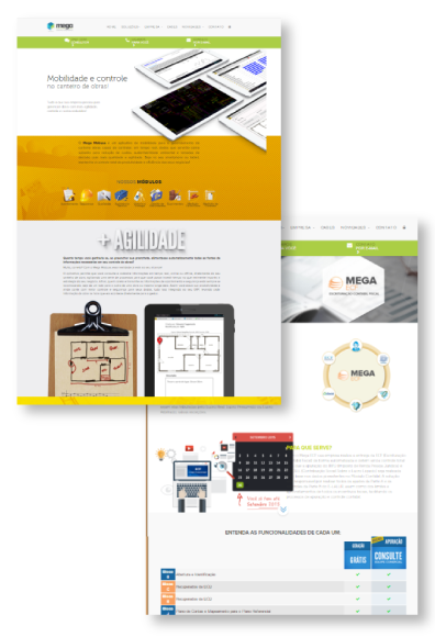 Landing Page: Mega Sistemas