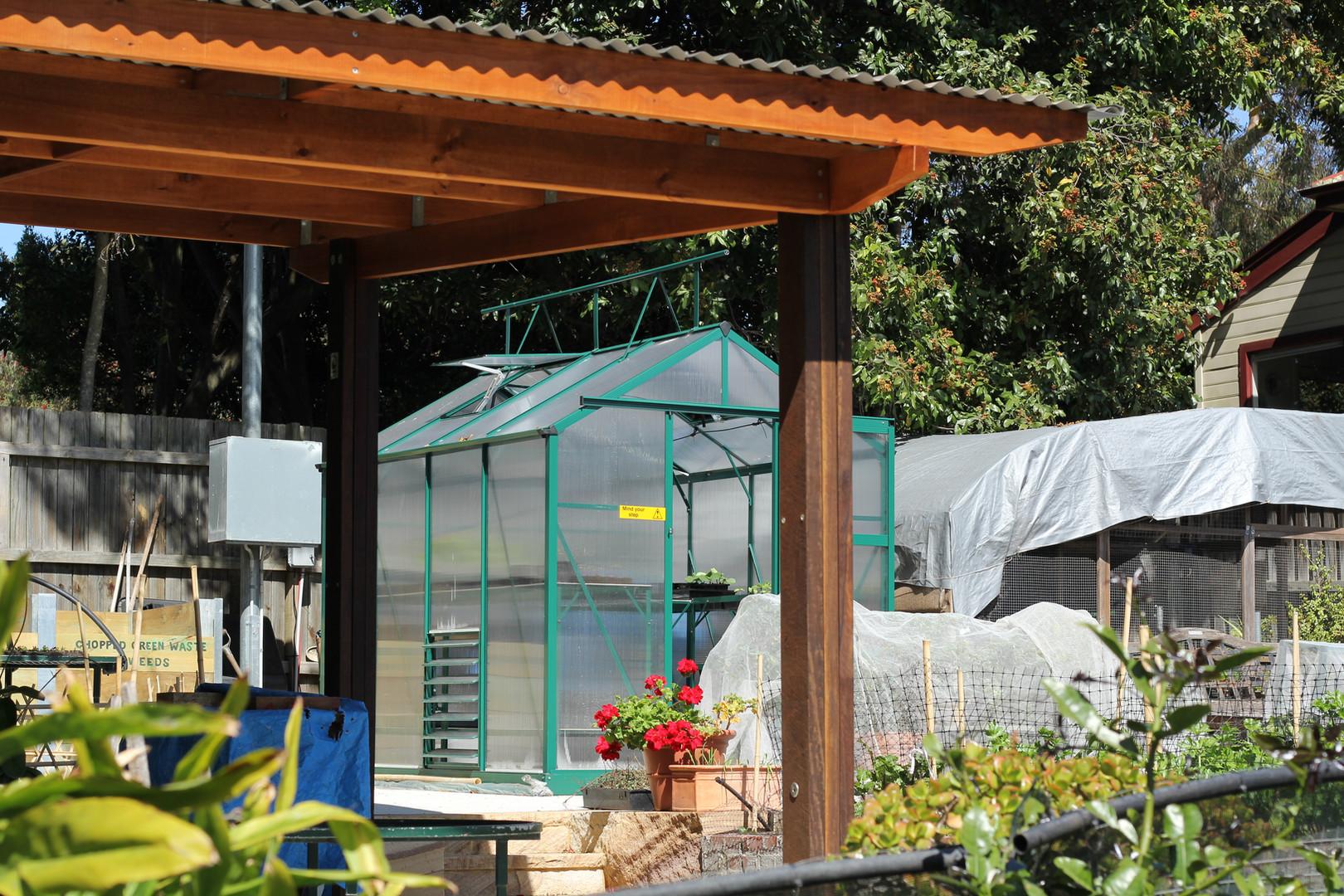 Seed Raising Greenhouse