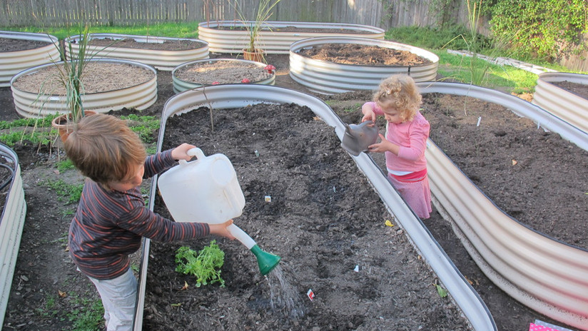 a manual watering system