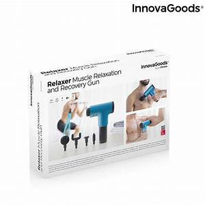 InnovaGoods Relaxer Massage Gun