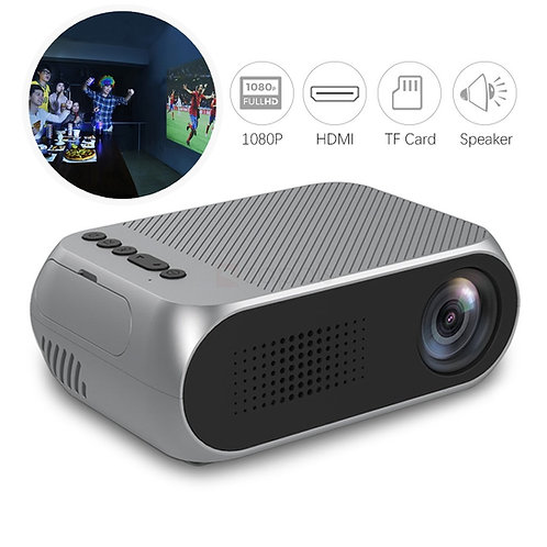 YG-320 Mini 1080P Portable LED Projector For Home Cinema
