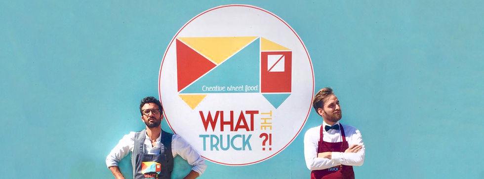 What the Truck Logo Yann & Clément