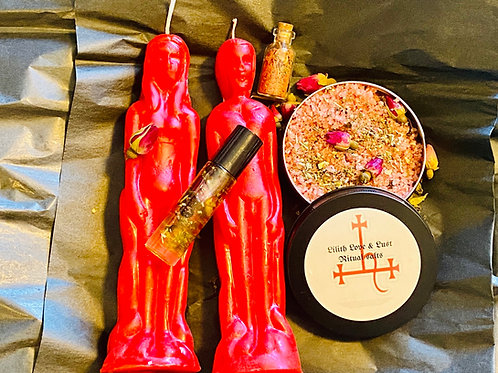 Lilith love and lust spell kit