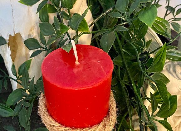 Love Candle Pillar