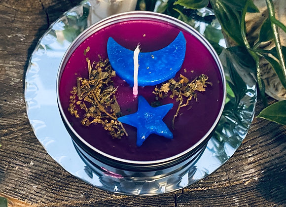 Lunar wisdom & intuition Candle