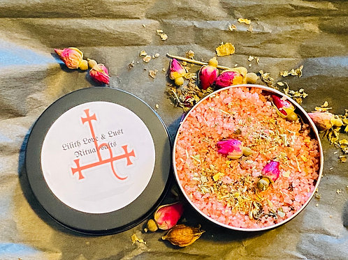 Lilith love and lust  Ritual Salts