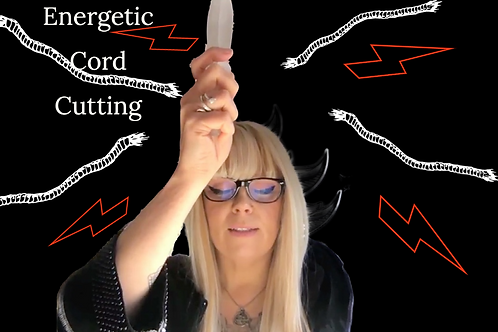 Energy Cord Removal & Auric Healing