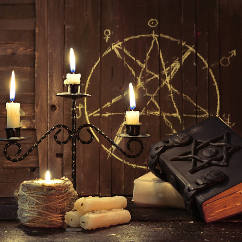 Candle Magick (3 Candle Spell)