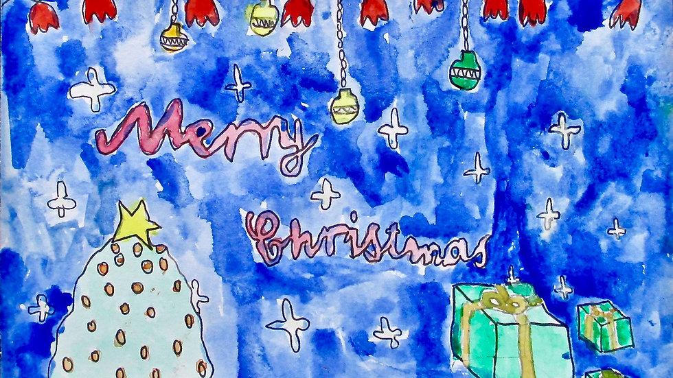 Nessie's Christmas Card