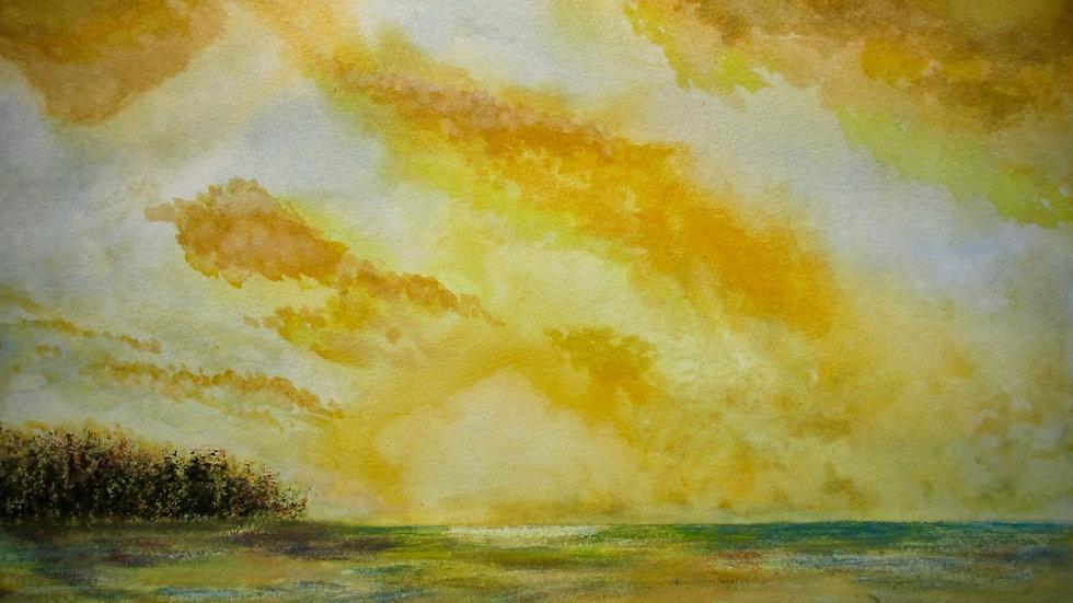 Holkham Beach at Sunset