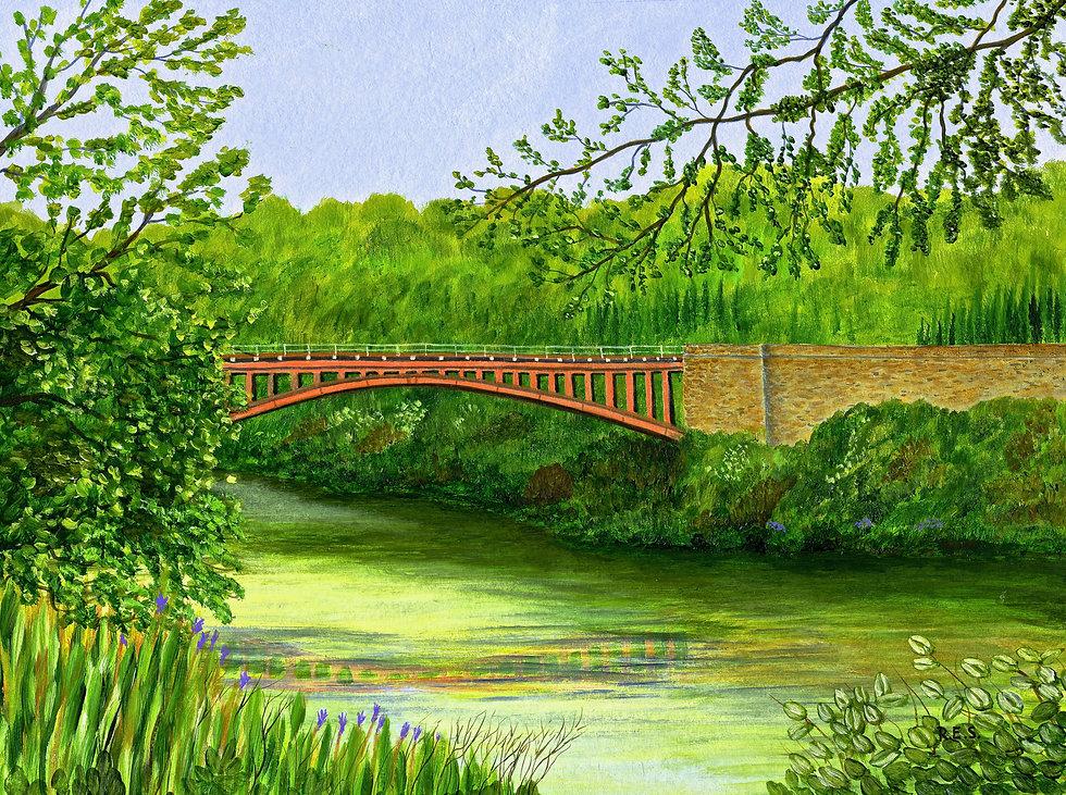 Victoria Bridge, Severn Valley Railway.j