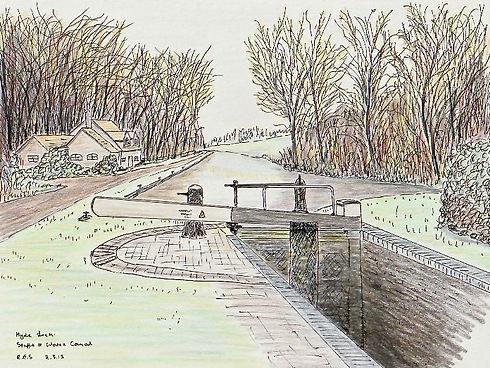Hyde Lock, Kinver, Staffs & Worcs Canal.