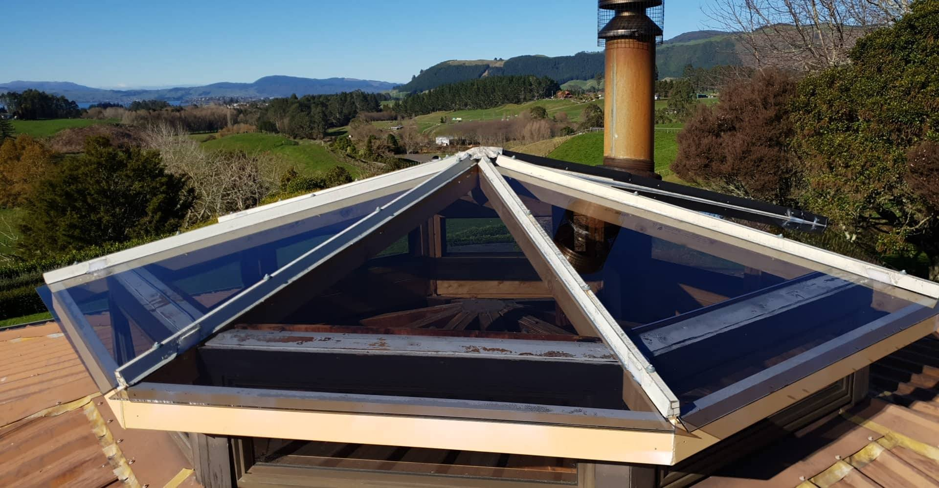 Glass Skylite Roof
