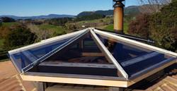 Glass Skylite Roof